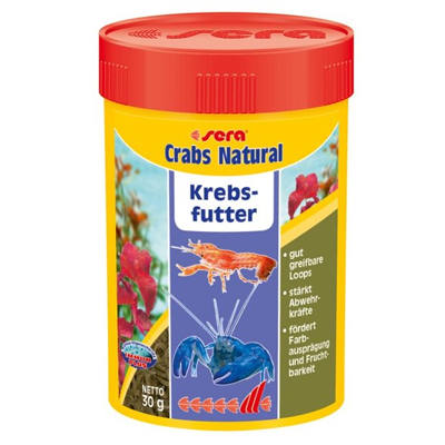 sera - Crabs - Natural - Krebsfutter - Fish-Point Uetendorf