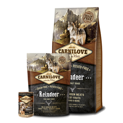 Carnilove - Reindeer - Dog - Fish-Point Uetendorf