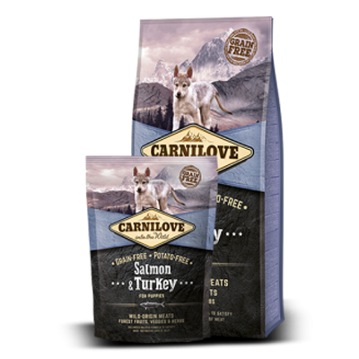 Carnilove - Salmon & Turkey Puppy - Dog - Fish-Point Uetendorf