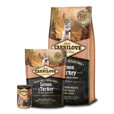 Carnilove - Salmon & Turkey - Puppy - Fish-Point Uetendorf