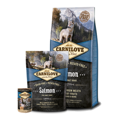 Carnilove - Salmon - Dog - Fish-Point Uetendorf